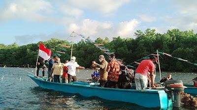 Panen Raya Rumput Laut di Ohoi Arso (Foto:GG)
