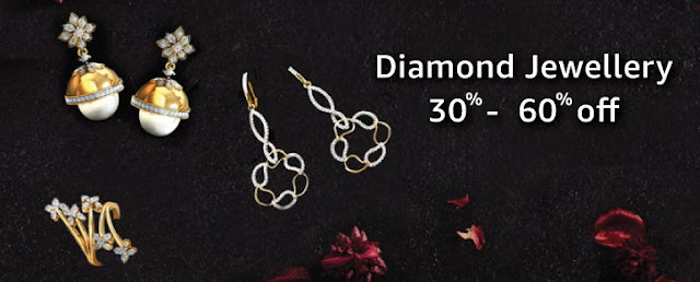 Amazon Deals on Gold and Diamond Jewellery