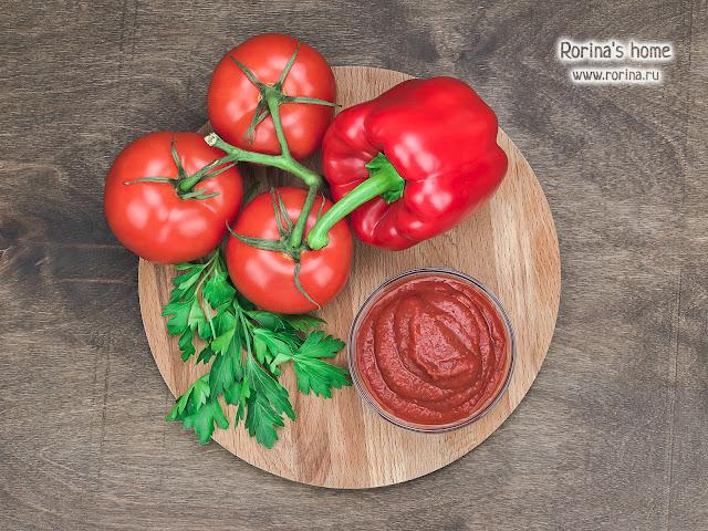 Как сделать кетчуп дома как в магазине. Фото