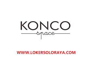 Loker Kartasura Staff Kitchen di Konco Space, Coffee Shop dan Coworking Space