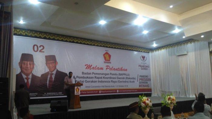 Mualem Perintahkan Jajaran PA dan KPA Menangkan Prabowo-Sandi di Aceh