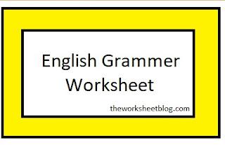 English Grammar : sentence and their kind worksheet.