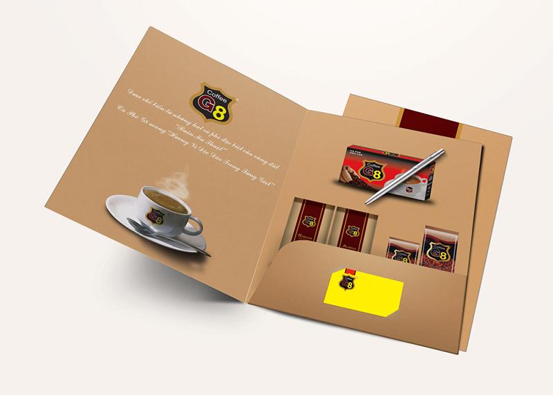 5 lưu ý quan trọng khi lựa chọn in folder, kẹp file giá rẻ Coffee G8