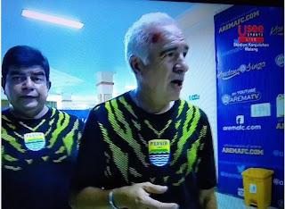 Pelatih Persib Mario Gomez Jadi Korban Kerusuhan Aremania di Kanjuruhan Malang