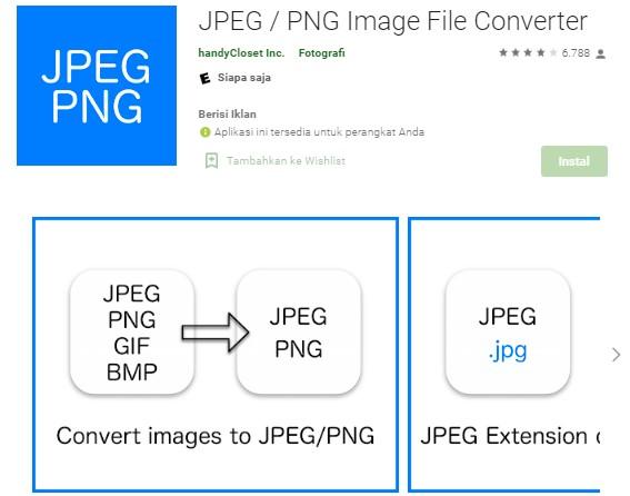 Cara Merubah Format JPG ke PNG di Android