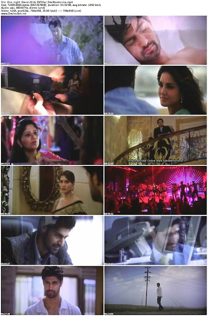 One Night Stand (2016) Hindi DVDScr 350 MB