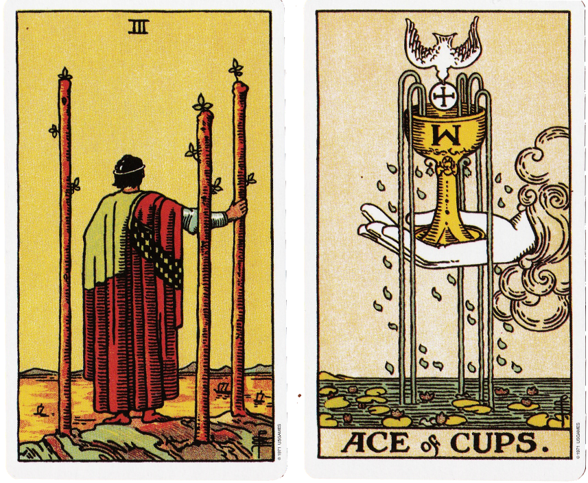 two of cups and ace wands relationship