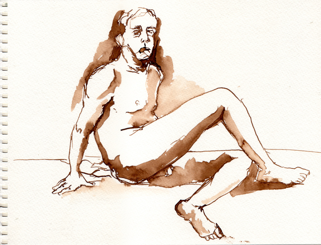 Life Drawing Page Six (2009)