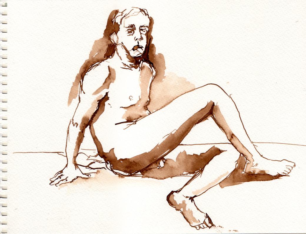 Life Drawing Page Six (2009)