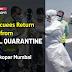 44 Evacuees Return Home from Naval Quarantine Camp at Ghatkopar Mumbai