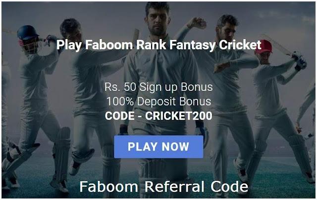 Faboom Referral Code 2020: 50 Rs Sign Up Bonus Per Refer