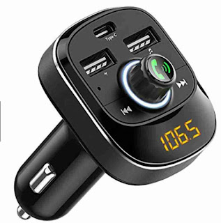 buy online Bluetooth radio car receiver adapter