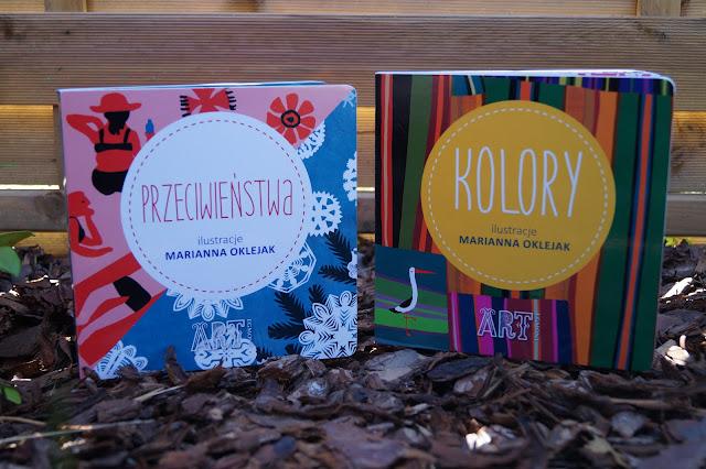 Przeciwieństwa i kolory w folklorystycznym stylu