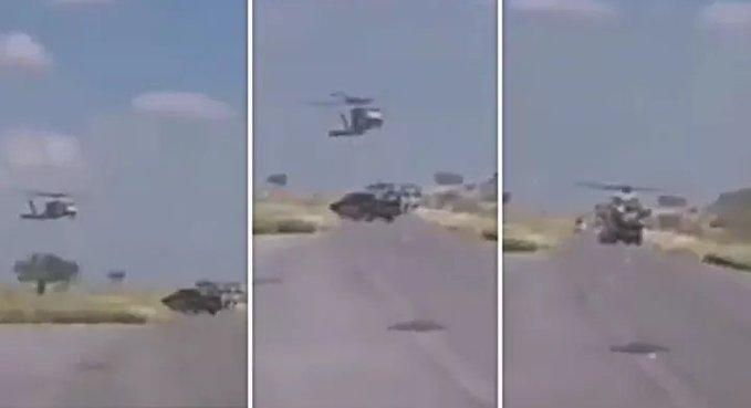 Video: Sicarios del Cártel del Noreste son sorprendidos en campamento e intentan derribar Helicóptero Militar en Doctor Coss, Tamaulipas, 5 de ellos murieron