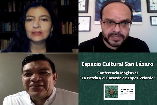 """Imparten conferencia magistral """"La Patria y el corazón de López Velarde"""""""