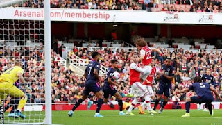 EPL: Gunners Move to 3rd Spot⬆ After Narrow Home Win