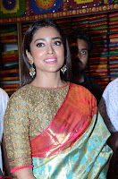 Shriya Saran Looks Stunning in Silk Saree at VRK Silk Showroom Launch Secundrabad ~  Exclusive 002.JPG