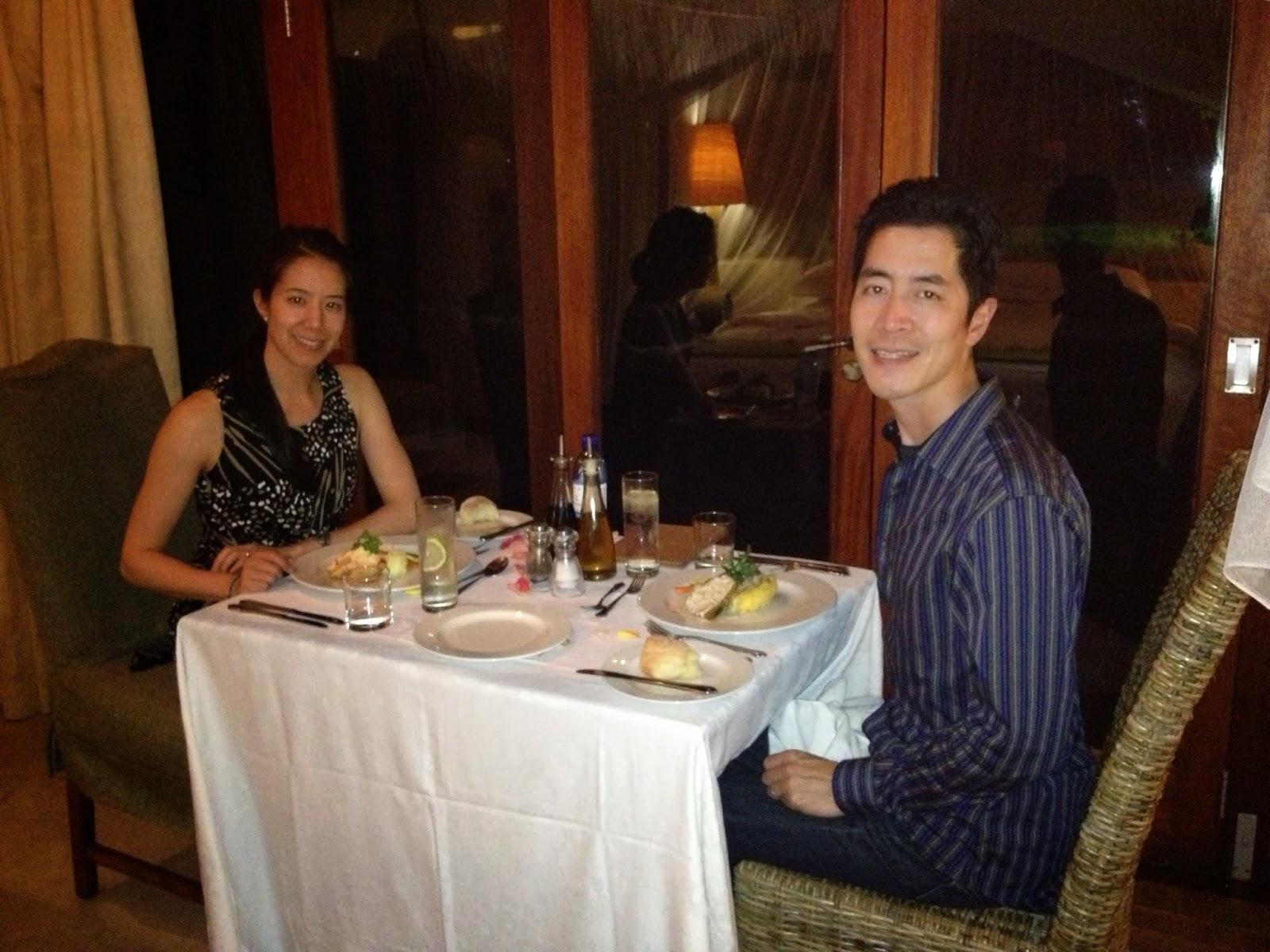 Sabi Sands - In-room dining