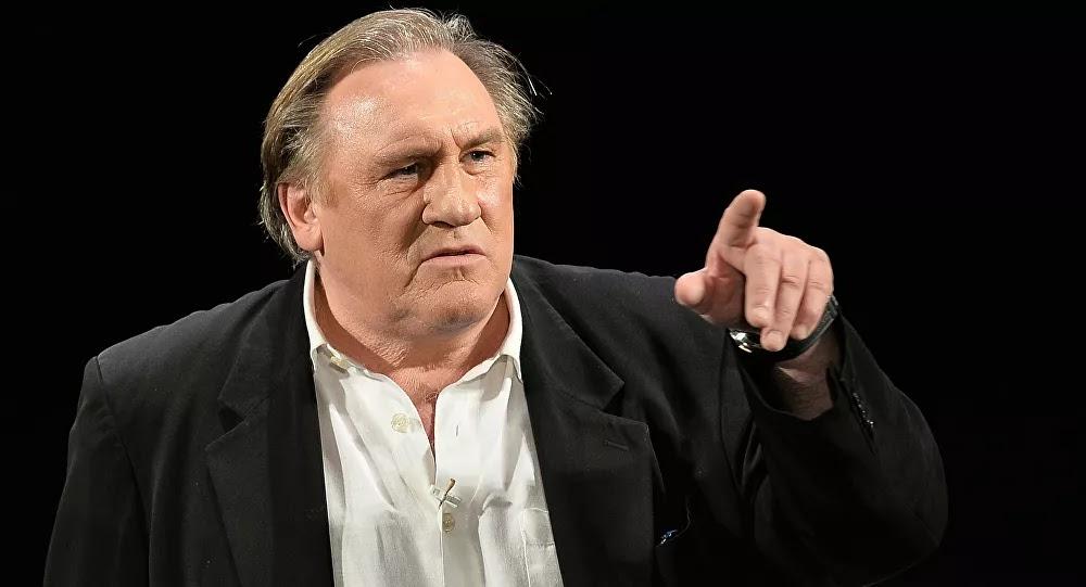 Gérard Depardieu affirme que : «La seule chose qui me donne encore espoir en la France ce sont les migrants...!»