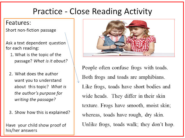 Reading2success: What is Close Reading?