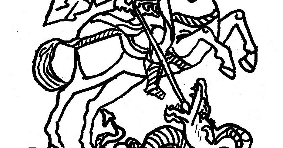 Orthodox Christian Education: St George Skit & Coloring Page