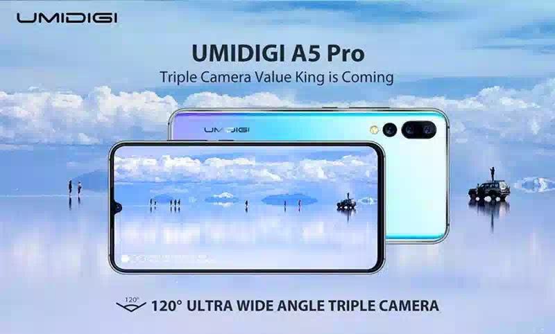 مميزات وعيوب هاتف umidigi a5 pro