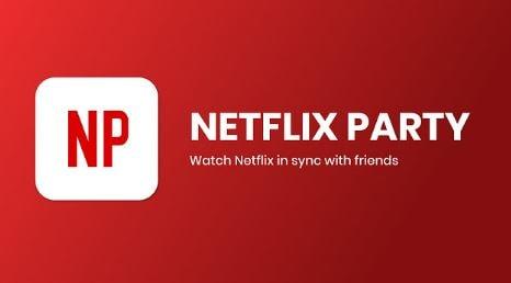 تحميل, إضافة, مزامنة, تشغيل, فيديوهات, Netflix ,Party, لمتصفح, جوجل, كروم