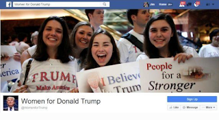 "Facebook Threatens To Suspend ""Women For Trump"" Facebook Fan Page"