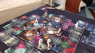 Imperial Assault game in progress. Photo and Models - Alistair Scott