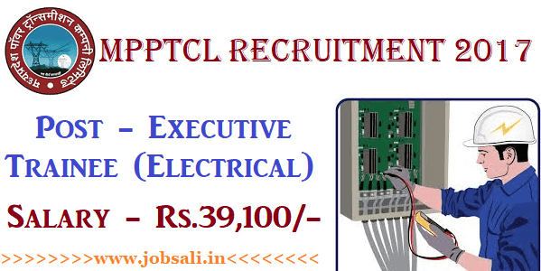 MPPTCL Recruitment 2017, Electrical Engineering jobs, Govt jobs in MP