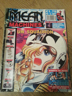Mean Machines, RetroGaming, UN Squadron, Videogames