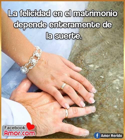 frases de matrimonio depende