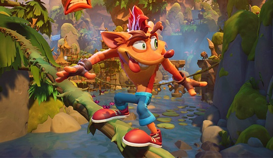 Crash Bandicoot: It's About Time Gameplay