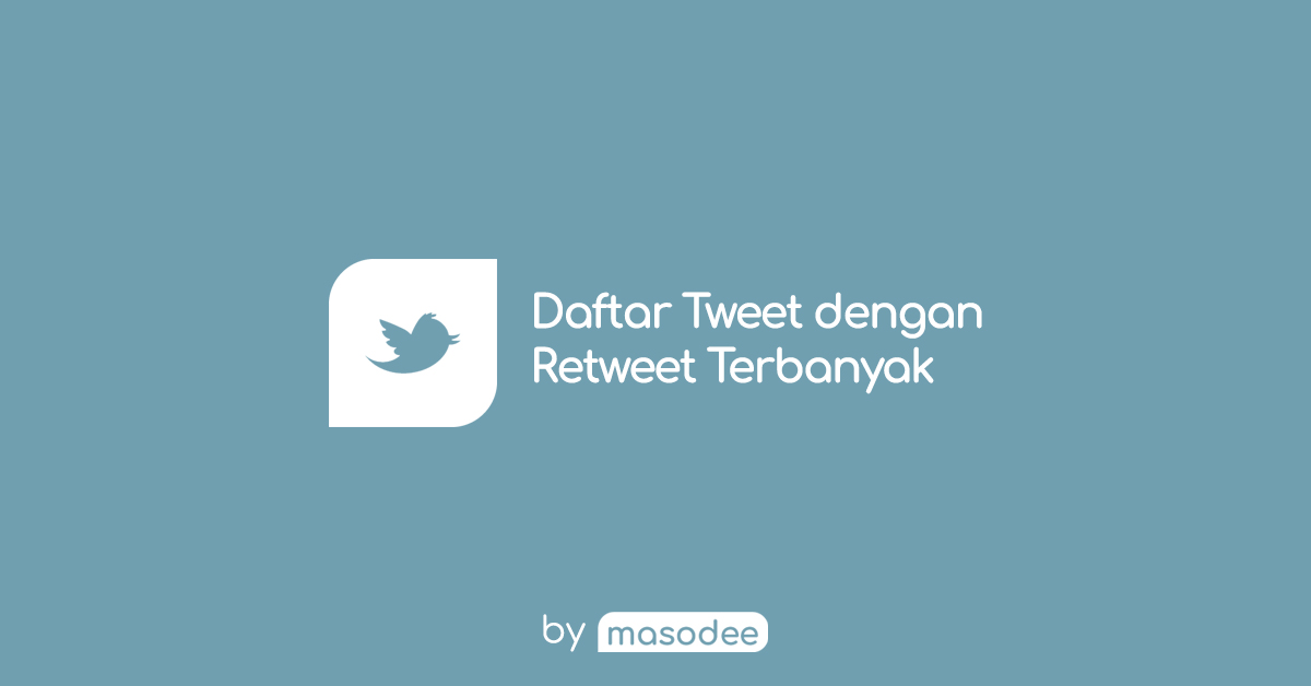 Daftar Tweet dengan Retweet Terbanyak Sepanjang Sejarah