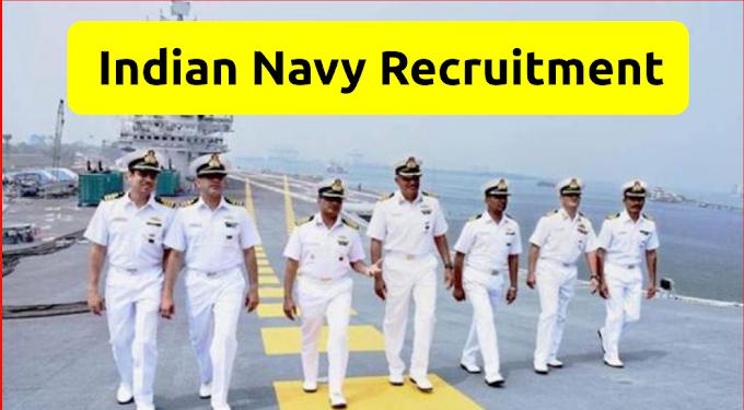 Indian Navy Sailor Matric Recruitment