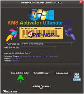 Windows KMS Activator Ultimate 2017 v3.2 Terbaru Gratis