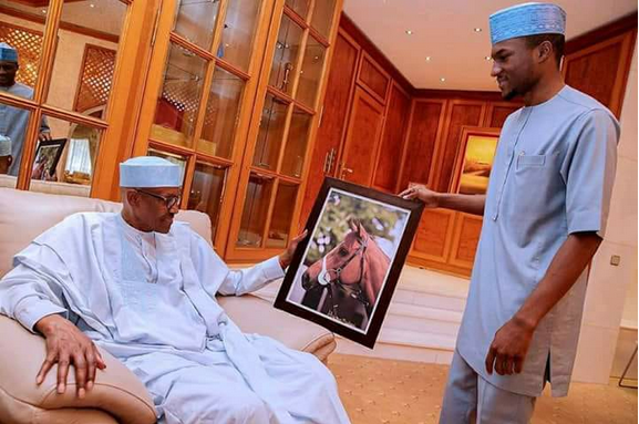 Buhari-and-his-son-Yusuf-Buhari