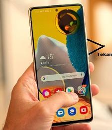 Cara screesnot Samsung A51