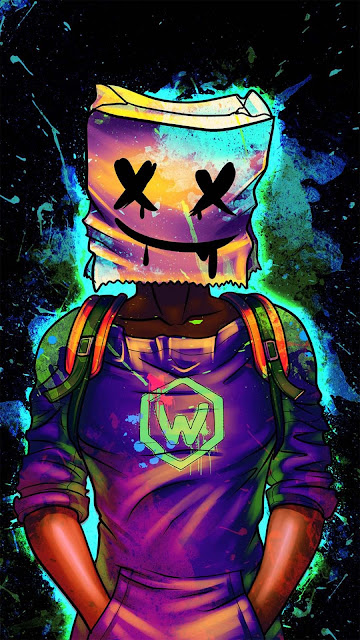 22 Mask Neon HD Wallpapers 4K 5K for iPhone and Android