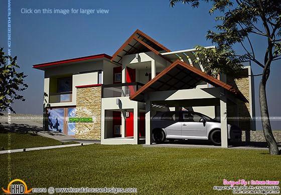 Modern contemporary home