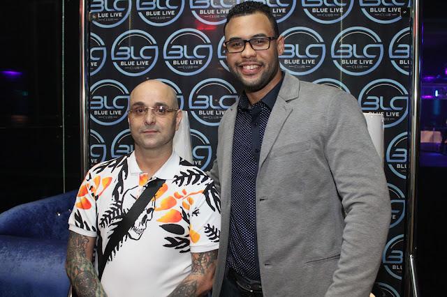 """Presentan el moderno concepto """"Blue Live Club"""" en Hard Rock Live Santo Domingo"""