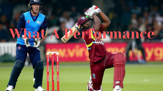 Shai Hope and Andre Russel Brings up West Indies Victory
