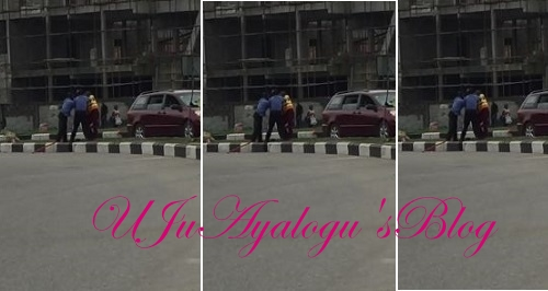 Police And LASTMA Officers Fight In Lekki (VIDEO)