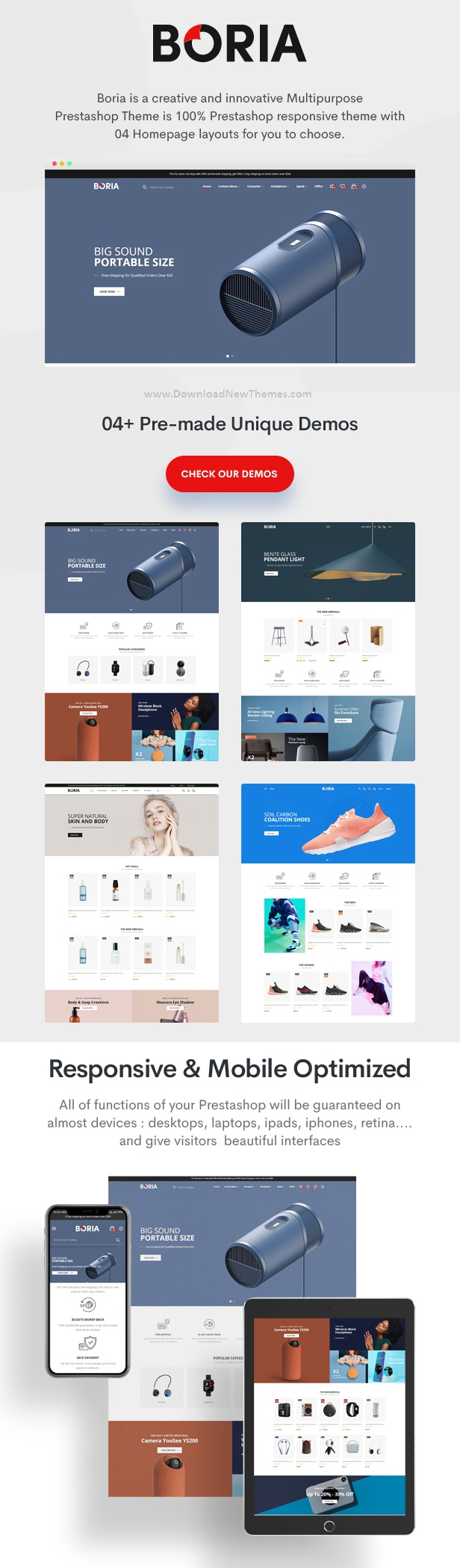 Multipurpose Responsive Prestashop Theme