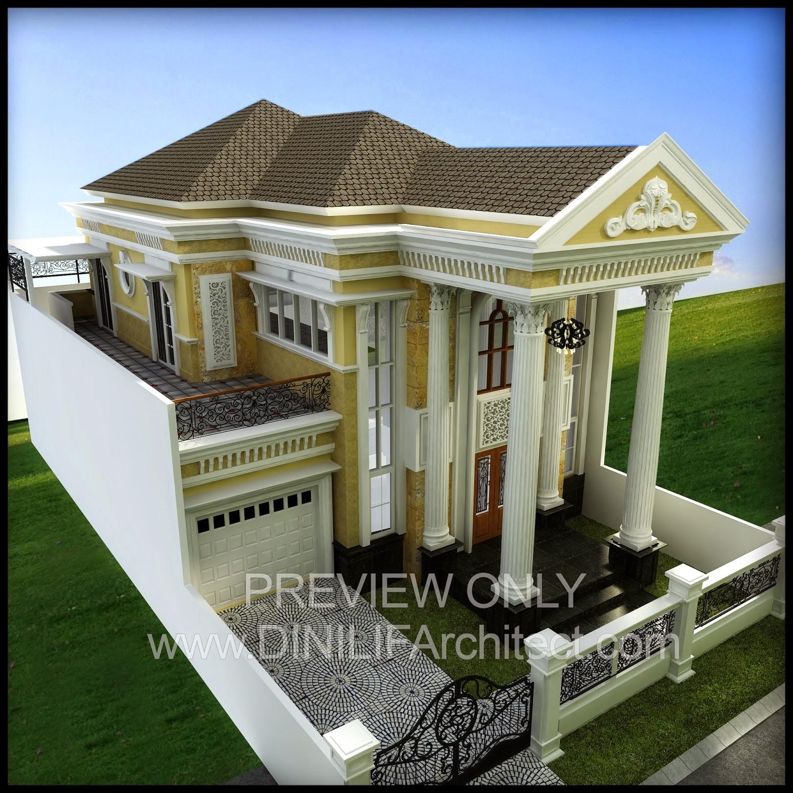 model rumah american classic 1