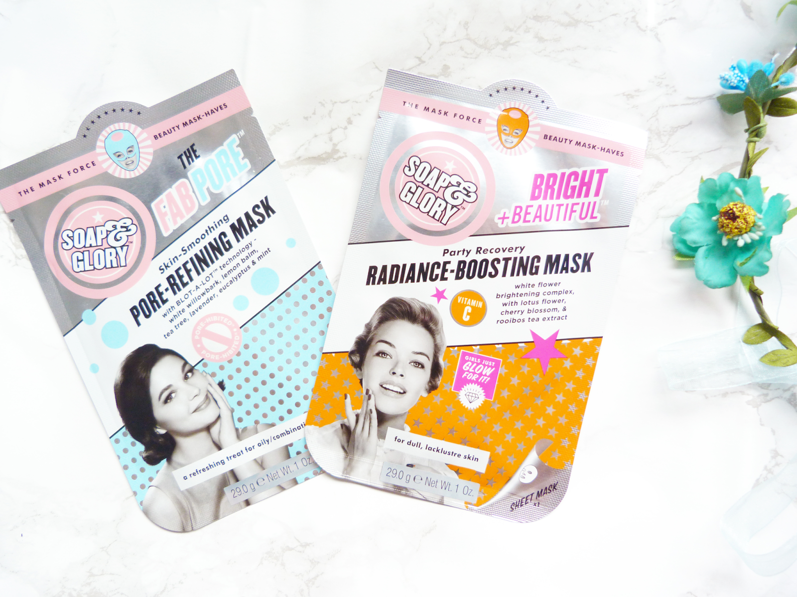 Soap and Glory Sheet Masks Review