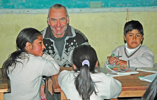 Machen Sie den Kindern von Bolivien eine kleine Freude: