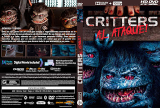 CRITTERS AL ATAQUE! – CRITTERS ATTACK! – 2019 [OVER – DVD]