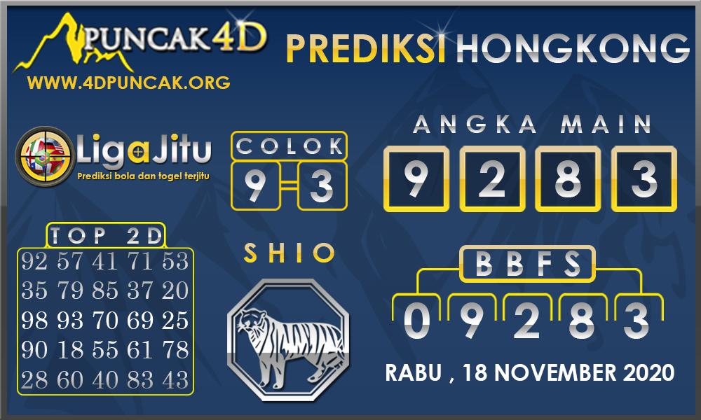 PREDIKSI TOGEL HONGKONG PUNCAK4D 18 NOVEMBER 2020