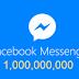 فيسبوك تعلن عن وصول مليار مستخدم نشط على تطبيق ماسنجر